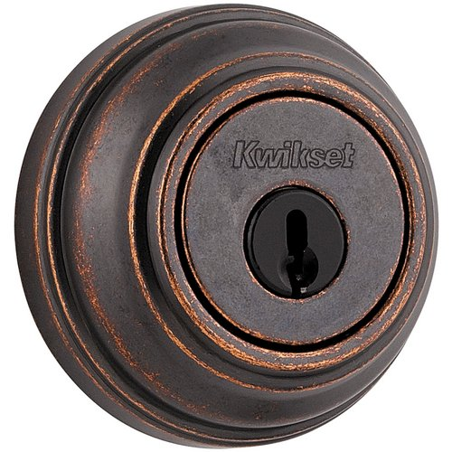 Kwikset  980S  Keyed Entry  980 Signature Series Deadbolt  Deadbolt  Single Cylinder  ;Rustic Bronze
