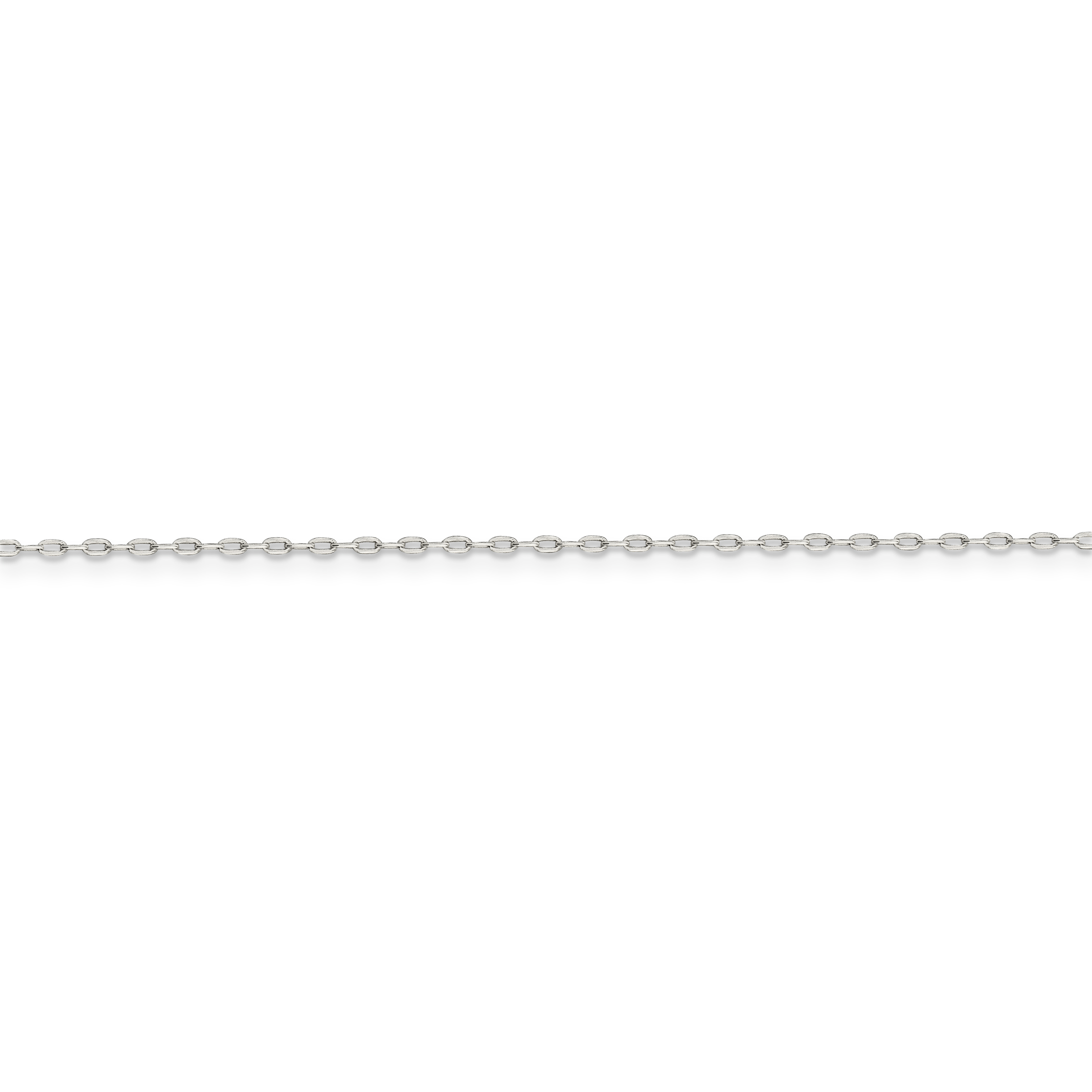 925 Sterling Silver 1mm Cable Chain 30 Inch - image 3 of 5