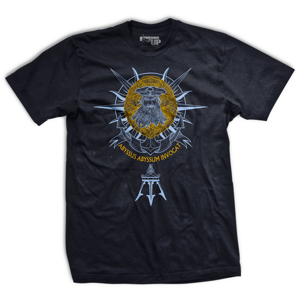 Ranger Up Davy Jones Golden Shellback T-Shirt  - Black