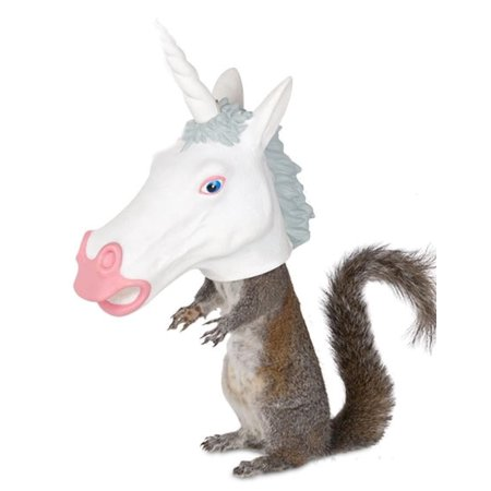 Unicorn Head Squirrel Feeder by Accoutrements - 12550 ()