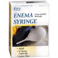 Cara Enema Syringe Adult 8-Ounce No. 14 1 Each