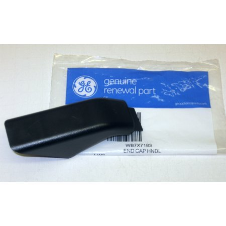 WB7X7183 GE Range Door Black Handle Cap Bracket AP2019449 (Range Bracket)