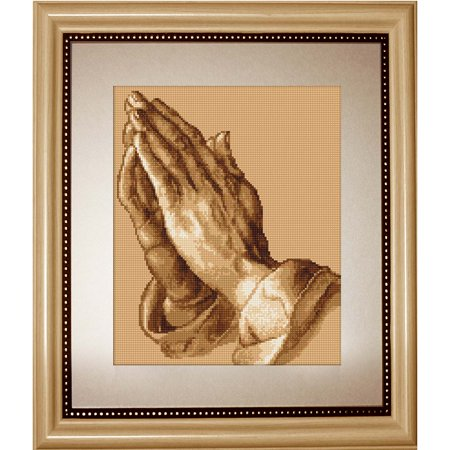 Luca-S The Praying Hands Counted Cross-Stitch Kit ()