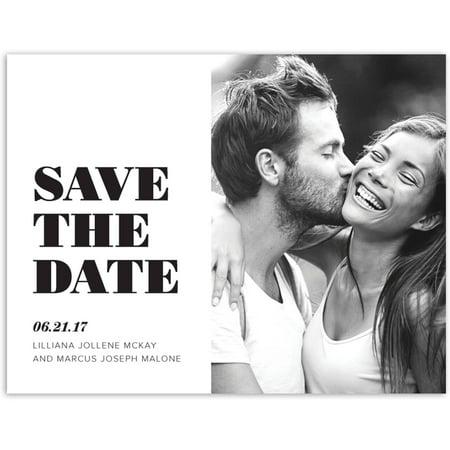 Modern Wedding Save the Date - Wedding Sale