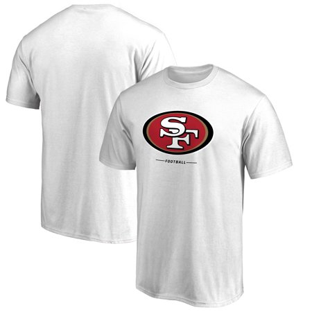 San Francisco 49ers NFL Pro Line by Fanatics Branded Team Lockup T-Shirt - White ()