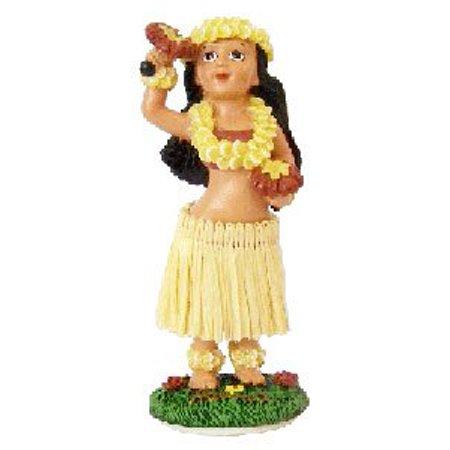Hula Girl with Uliuli Dashboard Doll 4