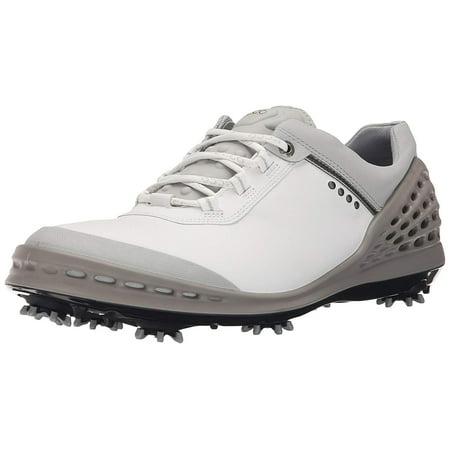 ECCO Men's Cage Golf Shoe, White, 40 EU6 6.5 M US