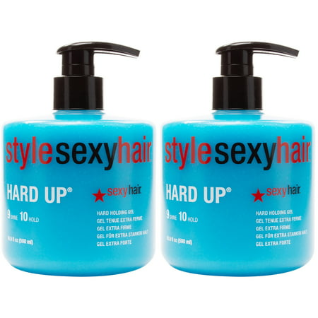 Sexy Hair Hard Up Hard Holding Gel 16.9 oz - Pack of 2