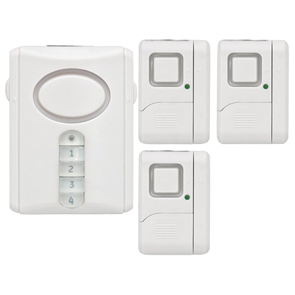 RCA JAS51107W Wireless Alarm System Kit