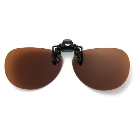 d7709e4627 Polarized Clip Sunglasses Lens Fishing Night Driving UV400 - Walmart.com