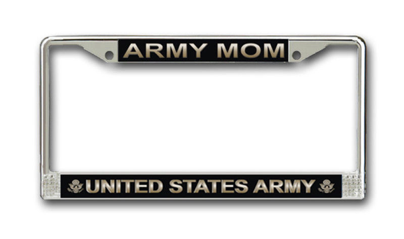 US ARMY VETERAN HIGH QUALITY METAL LICENSE PLATE MADE IN THE USA!