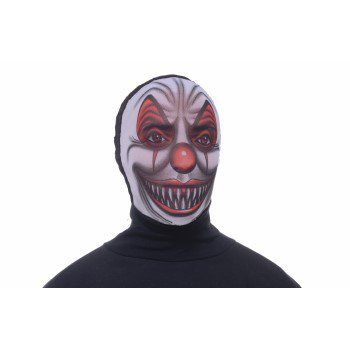 HOODED MASK-SCARY CLOWN