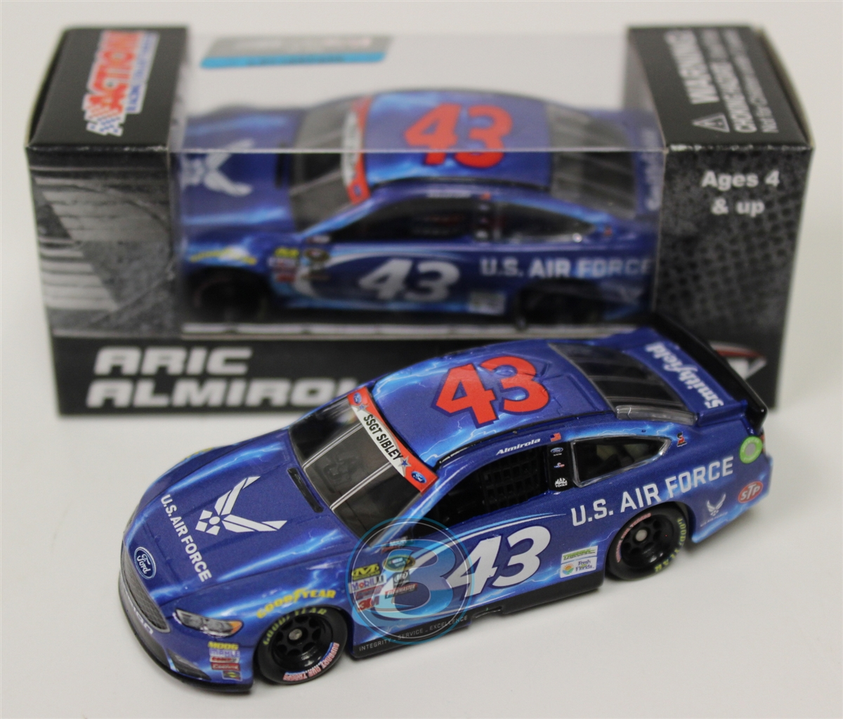 Aric Almirola 2016 Air Force 1:64 Nascar Diecast by Lionel Racing