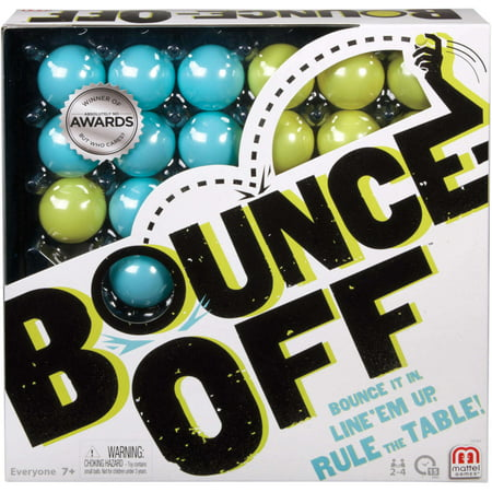 Bounce-Off Challenge Pattern Game for 2-4 Players Ages 7Y+ ()