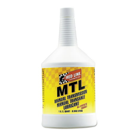 Redline MTL 75W80 GL-4 Gear Oil, 1 Qt.