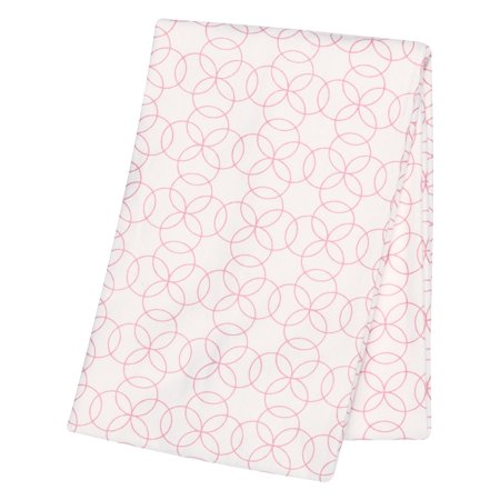 Walmart Swaddle Blankets Simple Pink Circles Flannel Swaddle Blanket Walmart