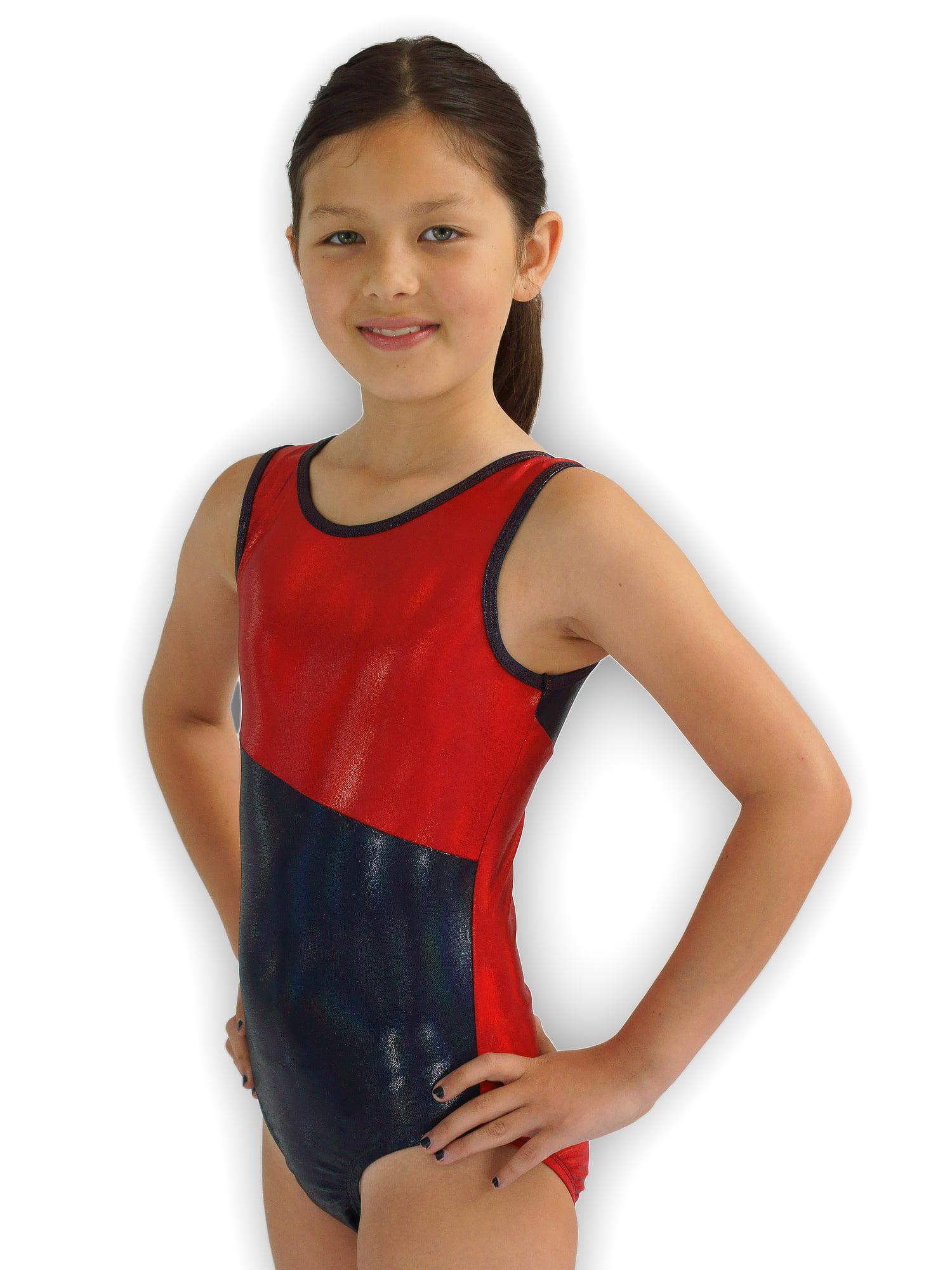 Gymnastics Leotard for Girls - Switch/Heatlamp - Leap Gear by Pelle - 6 | Child Medium
