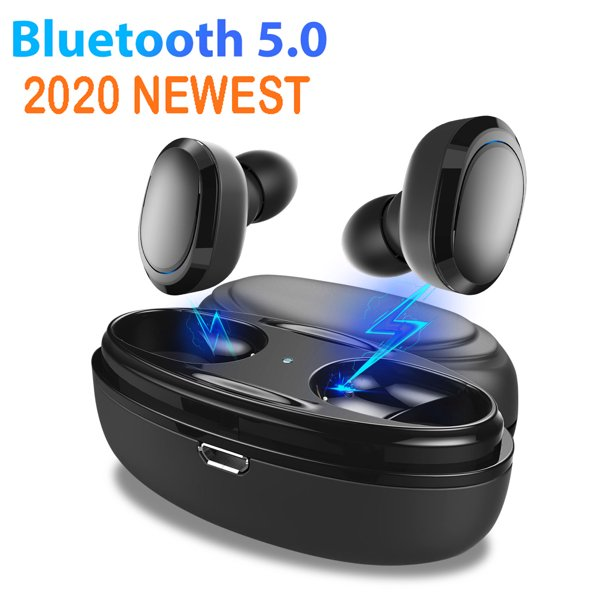Mini Wireless Earbuds 2020 Upgrade Bluetooth Earphone Smallest Wireless Invisible Headset Headphone With Mic Hands Free Calling For Iphone Samsung And Android Smart Phones Walmart Com Walmart Com