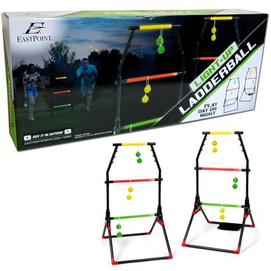 Light-Up Ladder Ball Portable Outdoor Toss Game Set Play Sports Tailgate Yard WLM8