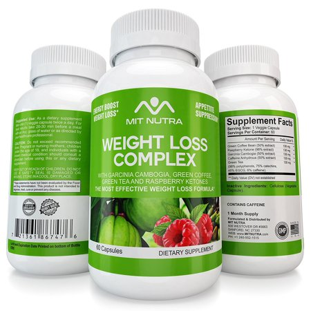 Premium Weight Loss Pills - All In One - Ultra Premium Garcinia Cambogia HCA - Raspberry Ketones - Green Tea - Green Coffee Extracts - Best Fat Burner, Appetite Suppressant Diet Pills by MIT
