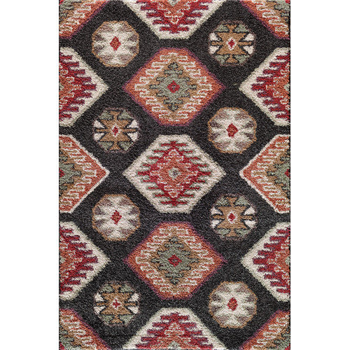 Wildon Home  Cady Black/Red Winona Rug