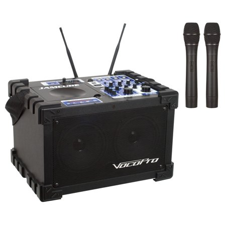 Vocopro 100w Stereo All-in-one Mini Pa/entertainment System - 100 W Amplifier (jamcube2)