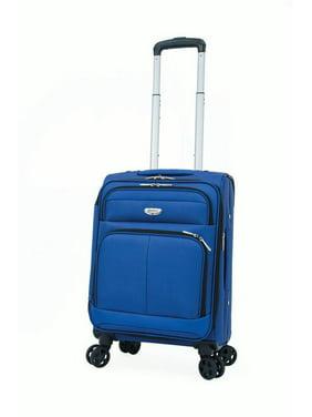 "Samboro Harmoney Lite 18"" Expandable Carry-on Spinner - Blue Color"