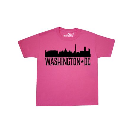 Washington DC Skyline Cities Youth T-Shirt