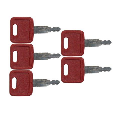 490 Replacement ((5) John Deere Excavator Keys 490 790 595 444E 190E 200LC 450LC 270LC)