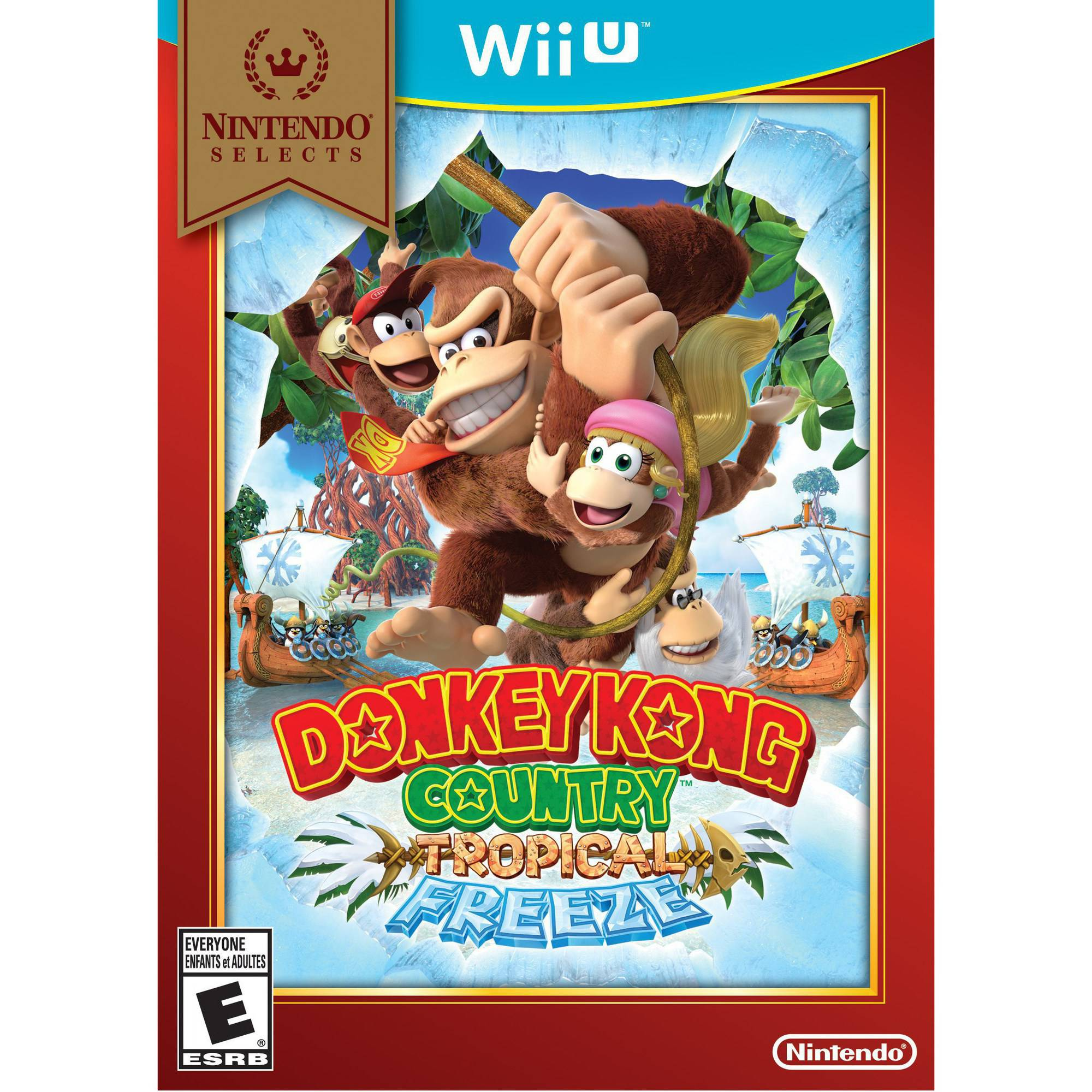 Donkey Kong Country Tropical Freeze - Nintendo Selects (Wii U)