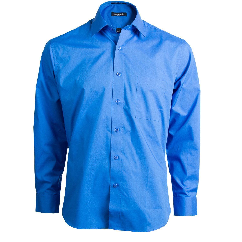 Pierre Cardin Pierre Cardin Mens Slim Fit Shirt New Ink 14 145