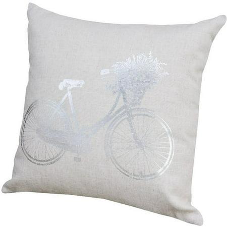 August Grove Simon Bike Throw Pillow