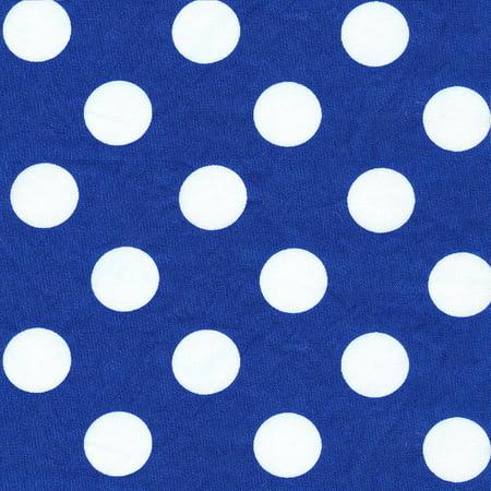Big Stone Patterns (Shason Textile (8 Yards cut) 100% Cotton Solid Quilting Fabric, Lapis / White Big)