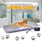 660lbs Heavy Duty Digital Metal Industry Shipping Postal Scale Livestock Vet Scale Animal Scale Dog Scale