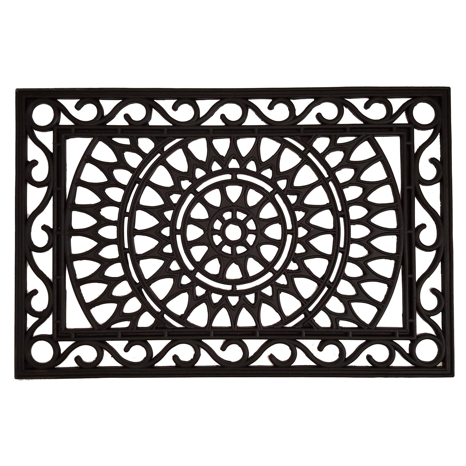 Home & More Sungate Rubber Doormat 24 x 36 in. by Supplier Generic