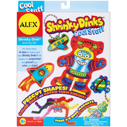 ALEX Toys - Shrinky Dinks Activity Kit, Cool Stuff