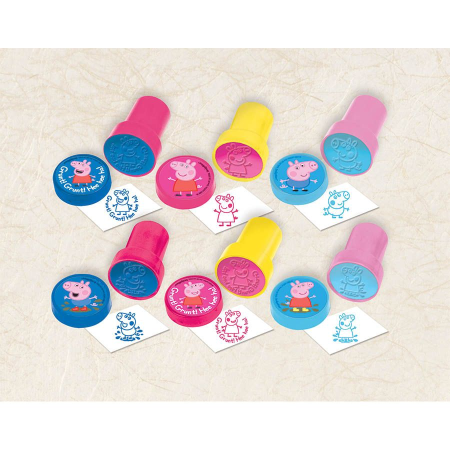 Peppa Pig Stamper Set (6 Pack) - Party Supplies