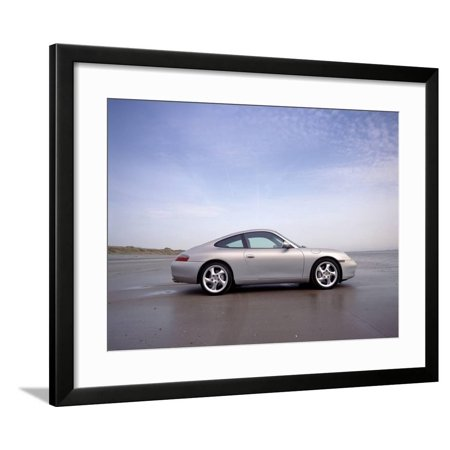 1999 Porsche 911 Carrera 4 Framed Print Wall Art