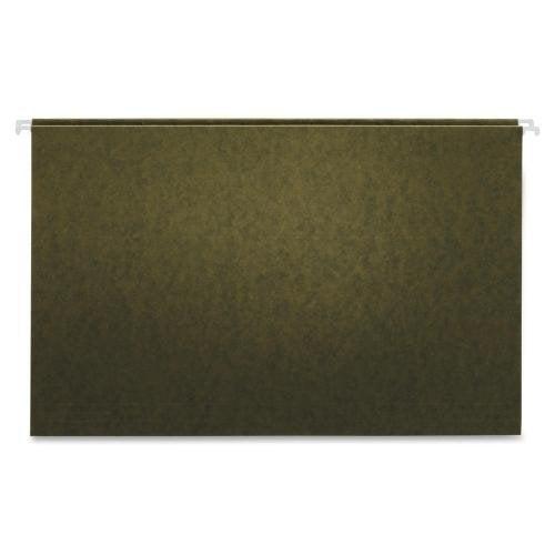 "65110GW Globe-Weis Green Hanging Folder - Legal - 8.50"" Width x 14"" Length Sheet Size - 2"" Expansion - 11 pt. - Green - 25 / Box"