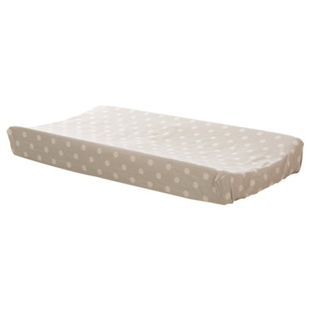 Glenna Jean Contessa Changing Pad Cover, Grey Dot ()