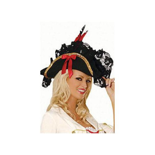 Elegant Moments Sexy Pirate - Hat to Match 9147 One Size Fits All, One Size Fits All
