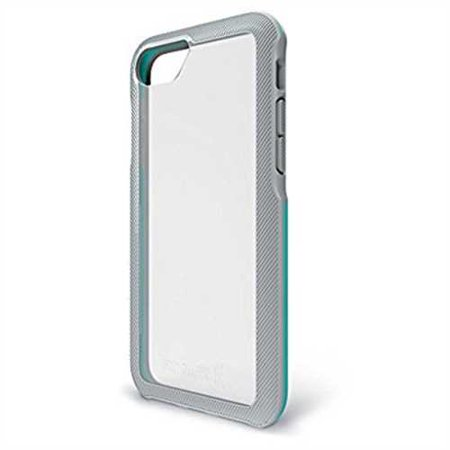BodyGuardz - Trainr Case, Extreme Impact and Scratch Protection for iPhone 6/6s/7/8  (Gray/Mint)
