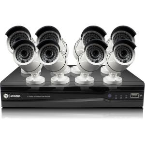 8-CHANNEL NETWORK VIDEORECORDER W/8 X NHD-815 3MP CAMERAS