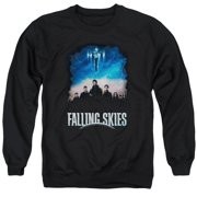 Falling Skies Main Players Mens Crewneck Sweatshirt