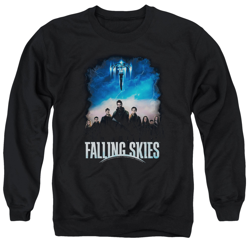 Falling Skies Main Players Mens Crewneck Sweatshirt