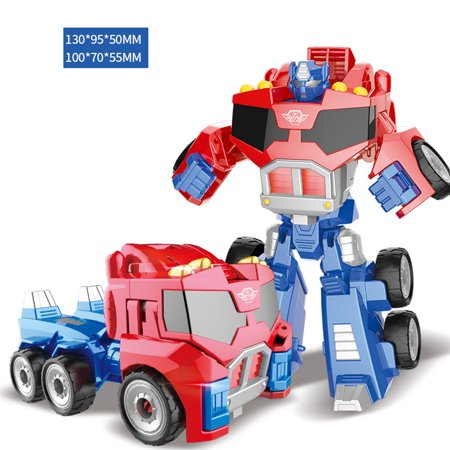 Christmas Gifts For Boys.Deformation Robot Car Model Toy Puzzle Educational Toy Christmas Gifts For Boys