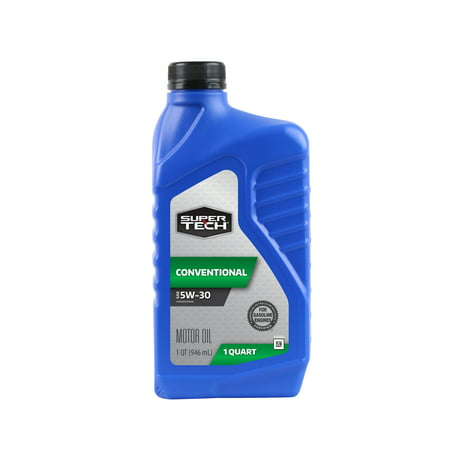 (4 Pack) SuperTech 5W30 Motor Oil, 1 (1 Quart Bouncer)
