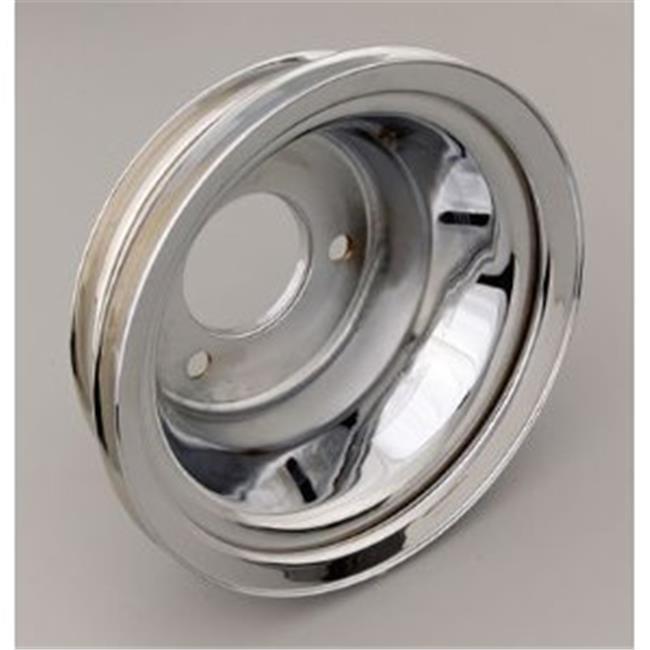 TRANSDAPT 9724 Crankshaft Pulley, Silver