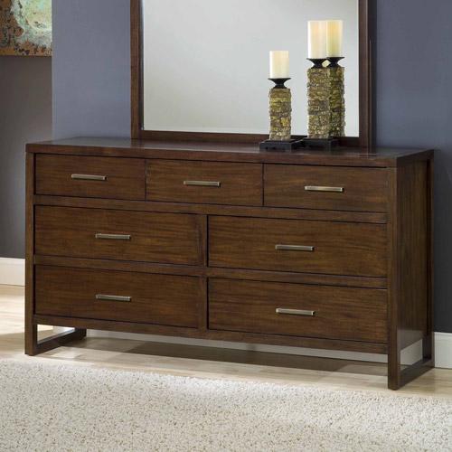 Modus Furniture Uptown 7-Drawer Dresser, Truffle by Modus Furniture International