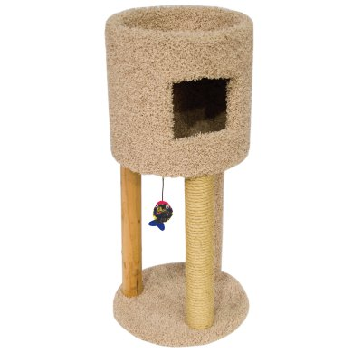 Ware 01171 Kitty Condo with Playground, Multi-Color, Boxed (Kitty Playground)